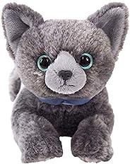 膝盖猫 S ROCIEN 蓝色 毛绒玩具