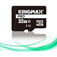 KINGMAX microSDHC卡 32GB Class10 UHS-I 对应 附带SD转换适配器 智能手机 相机 涡…