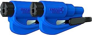 RESQME 原始钥匙扣汽车逃生工具,美国制造(蓝色)-2件