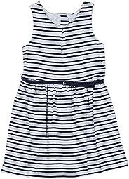 Nautica 女童無袖花式連衣裙