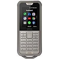 诺基亚 800 Tough 户外手机(6.1厘米(2.4英寸),Dual-SIM,4G LTE,KaiOS)16CNTN…
