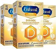 Mead Johnson 美贊臣 Enfamil 鉑睿 D-Vi-Sol 維生素D補充滴劑,50毫升(3件裝)