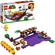 LEGO 乐高 Super Mario Wiggler's Poison Swamp 扩展套装 71383 搭建套件;独特的礼品玩具套装,适合创意儿童,2021 年新款(37
