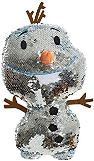 Disney 冰雪奇緣 2 雙面亮片大號毛絨玩具