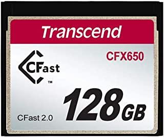 Transcend CFast 2.0 CFX650 存储卡TS128GCFX650 128 GB