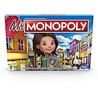 Hasbro 孩之寶 Monopoly 地產大亨 大富翁游戲:適合8歲以上兒童的桌游