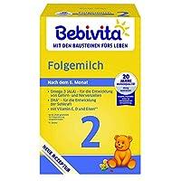 Bebivita 貝唯他 嬰兒奶粉 2段(適用于6月以上嬰兒) 1117-01,4罐裝(4 x 500g)
