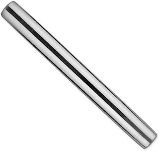 DS DISTINCTIVE STYLE 不锈钢擀面杖 - 13.7 英寸(约 34.9 厘米)专业法式擀面杖,用于烘焙厨房用具,为馅饼、糕点、披萨做面团