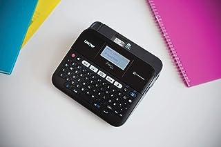 Brother 兄弟 桌面,专业标签设备,带 Nastri fino 显示屏,18毫米 黑色