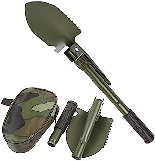 GoodTake 花园工具*便携式折叠铲多功能不锈钢生存铲铲 露营户外工具铲(*)