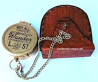 雕刻指南针,定制黄铜指南针周年纪念,生日,毕业日,确认礼物,情人节礼物,分隔礼物,水手礼品