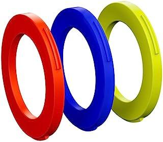 Magura 制动卡钳 12 个刀片套装 蓝色/霓虹红色/荧光黄,均码