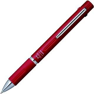 樱花彩色笔 多功能笔 圆珠签4+1 【笔杆颜色】红色