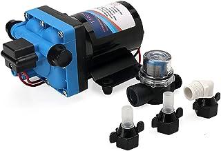 Tremax 水透析水泵,12V,3.6GPM,55PSI,重型自吸水泵,适用于房车、大篷车、游艇-12V
