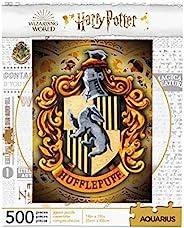 Aquarius Harry Potter Hufflepuff 标志 500 片拼图