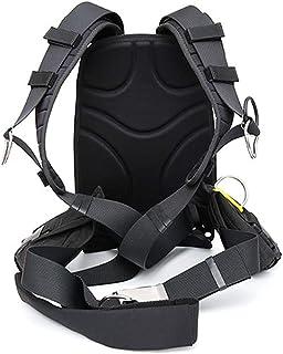 Luwint 舒适*带系统,带软垫铝背板和用于高科技潜水的计数器重量袋