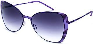 Italia Independent 女式 0204-144-000 太阳镜,紫色(锦纶),55.0
