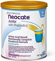 Neocate 纽康特 青少年奶粉,含益生元,草莓味,14.1盎司/ 400克(4罐)