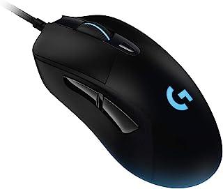 Logicool G 游戏鼠标 有线 G403h HERO传感器 人体工学LIGHTSYNC RGB 6个程序按钮