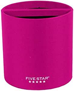 五星储物柜,磁性铅笔杯,颜色随机 (81028) 多种颜色