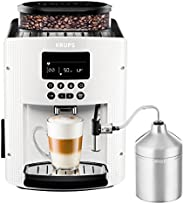 Krups 克魯伯 EA8161 全自動咖啡機 (1.8L,15bar,液晶顯示器,自動卡布奇諾系統),白色