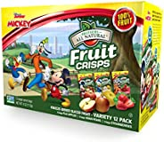 Brothers-ALL-Natural 水果脆片,米老鼠俱乐部各种包装(12件装)