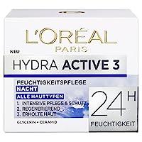 L'Oréal Paris 巴黎欧莱雅 Hydra Active 深度保湿滋润晚霜 密集保湿霜