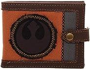 Bioworld 星球大戰傳奇 8 Canvas Rebel 盒裝男士雙折錢包