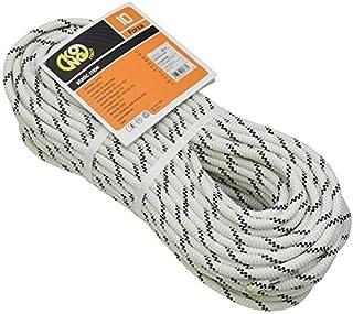 KONG Forza 10 半静态绳,白色/黑色,100 M