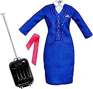 芭比职业 FLIGHT attendant 时尚大礼包