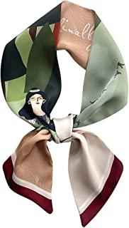 IMLECK 气质卡通印花包手提包手柄丝带围巾头带时尚颈巾