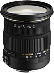 Sigma 17-50 mm F2,8 EX DC OS HSM 鏡頭 (77 mm 濾鏡螺紋) 適用于Nikon尼康鏡頭接口