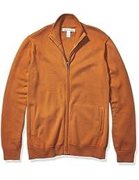 Amazon Essentials 男士全拉链棉毛衣