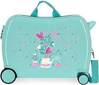 Movom Flower Pot 儿童箱,*,50 x 39 x 20厘米,刚性ABS组合锁,侧面34升,3公斤,4个行李包