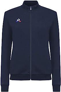 Le Coq Sportif 女式 N°1 Fz Sweat 演示棉 W 运动衫,裙蓝色,XS 码