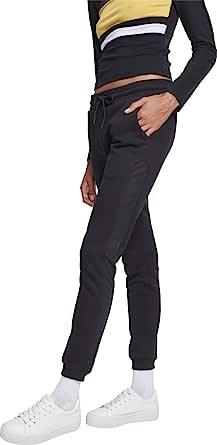 Urban Classic 女士网眼侧条纹运动裤