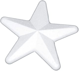 Unicraft Frigolite Star 10 厘米,白色,10 厘米