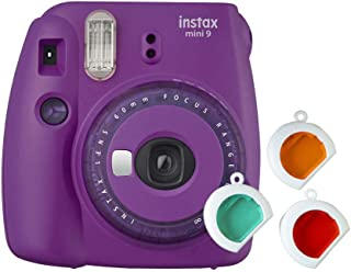 Instax Mini 9 透明相机,紫色
