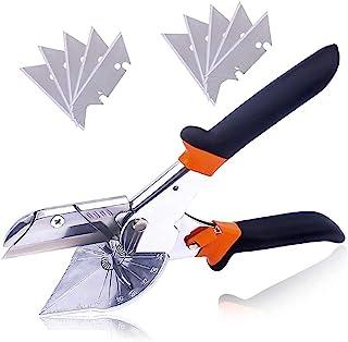 多角度斜切刀,多功能可调节角剪刀,剪刀多角度线管切割机,手剪刀,修剪工具,45-135 度可调角剪刀装饰