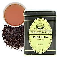 Harney & Sons 散葉紅茶, 大吉嶺茶, 8 盎司(約226.80克)罐裝