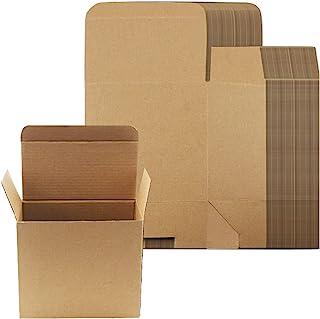 20 包 6.9x3.7x4.5 英寸(约 16.9x9.9x11.4 厘米)木质彩色包装盒 Safe Express 运输箱 硬瓦楞纸板箱