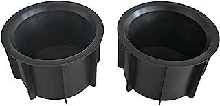 前中心控制台橡胶杯架插入适用于 2007-2014 FJ Cruiser 55616-35010 2 件