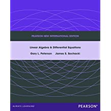 Linear Algebra and Differential Equations: Pearson New International Edition (English Edition)