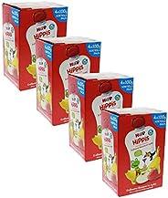 HiPP 喜宝 Bio 幼儿果泥 适用于1岁以上幼儿 苹果/草莓/香蕉味,无添加糖,4盒/每盒4袋(挤压式软袋)/每袋100g