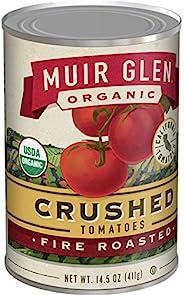 Muir Glen 罐装番茄,番茄碎烤制不加糖,14.5 盎司(约 411.1 克),12 罐