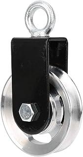 Yagosodee 滑轮 155 x 88 毫米/6.1 x 3.5 英寸轴承举重滑轮 适用于家庭项目 服装线