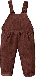 LAPA 幼儿男孩女孩背带裤吊带连身衣套装背带裤纯色肩带长裤