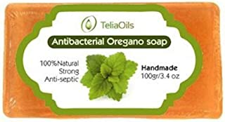 Oregano 香皂,深层皮肤清洁 - **。 适用于*和皮肤*,运动员的脚,粉刺等,* *有效,适合所有肤质 Soap 1包
