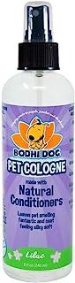 Natural Pet 古龙水 大号   猫狗*剂和香味香水身体喷雾   清新香味   天然*和调理品质   美国制造 - 1 瓶 8 盎司(约 236.6 毫升)(淡紫色)