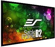 Elitescreens SB110WH2 100英寸3D 4K/8K UHD固定框 家庭影院投影仪屏幕套件-CineWhite
